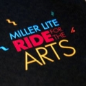 <b>RIDE FOR THE ARTS</b> - Logo for UPAF bike ride